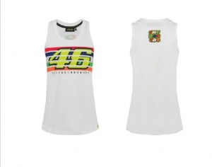 tank top ladies white